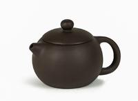 """Чайник из исинской глины """"Янь тёмный"""" (220 мл)"""
