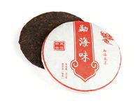 """Шу Пуэр Бин Ча """"Вкус Менхая"""" (фаб. Маньлэй, 2012 г.), 357 г."""