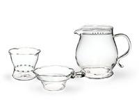 Набор из жаропрочного стекла для заваривания чая «Classic» 400 мл
