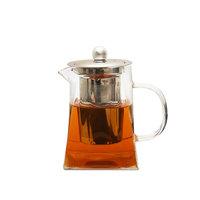 """Чайник из жаропрочного стекла """"Версаль"""" с заварочной колбой из металла (750 мл)"""