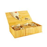 Подарочная коробка на 3 банки (под дерево)