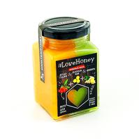 """Медовый мусс """"LoveHoney"""" с ягодой Годжи, имбирём и зеленым чаем (340г)"""