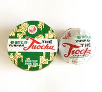 Шу пуэр гнездо «Люкс» марки «Сосна и журавль» (завод «Сягуань») 100 г (2018)