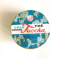 Шу пуэр гнездо «Люкс» марки «Сосна и журавль» (завод «Сягуань») 100 г (2007)